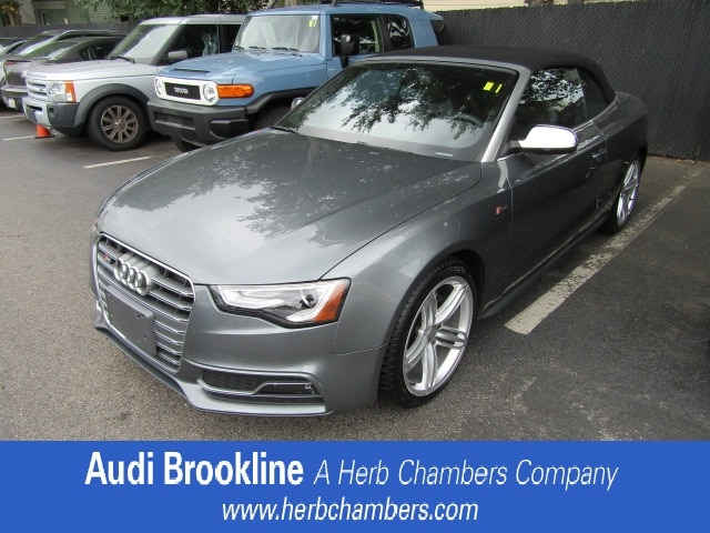 Used 2014 Audi S5 Premium Plus Convertible for sale in the Boston MA area