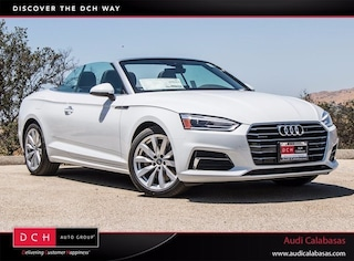 New 2018 Audi A5 2.0T Cabriolet for sale in Calabasas
