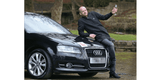 Singly dad wins lottery, buys his dream car