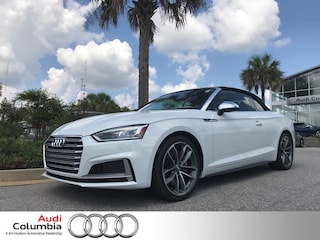 New 2018 Audi S5 3.0T Cabriolet in Columbia SC