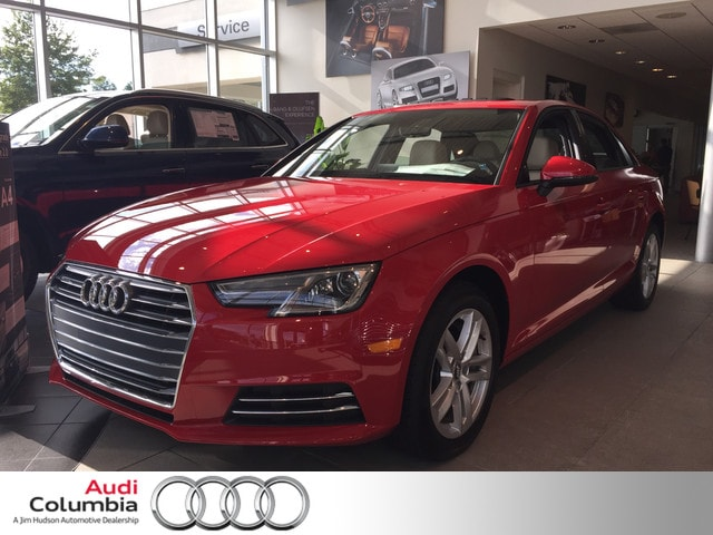 New 2017 Audi A4 2.0T Sedan Columbia, South Carolina