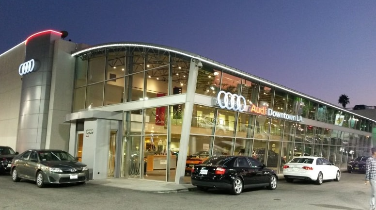 about audi downtown la new audi and used car dealership los angeles. Black Bedroom Furniture Sets. Home Design Ideas