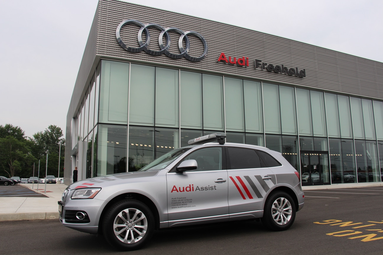 Audi Roadside Assistance Audi Roadside Assistance App