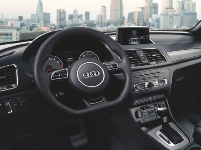 2018 audi q3 interior. wonderful interior interior comfort convenience u0026 tech features in the 2018 audi q3 for audi q3 interior