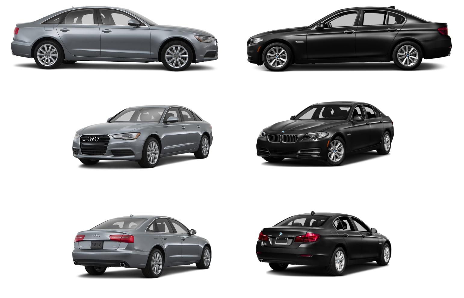 Audi A6 vs BMW 5 Series Huntsville  Compare Full Size Luxury Cars