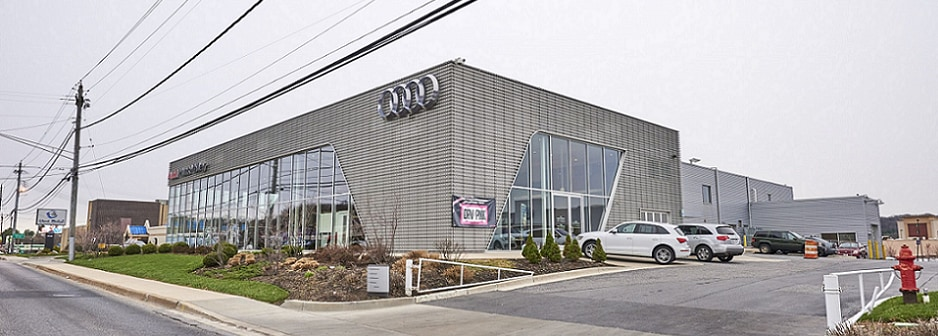 Audi Hunt Valley Dealership Exterior