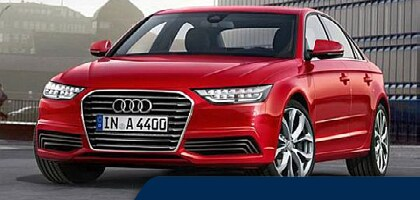 Red 2015 used Audi A4 for sale