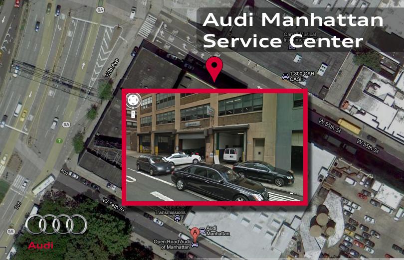 Audi Manhattan New Audi Dealership In New York Ny 10019