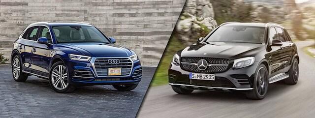 Audi Q Vs MercedesBenz GLC Orange County Audi - Mercedes benz dealers in orange county