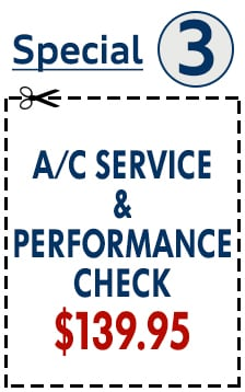 AC Service & Performance Check