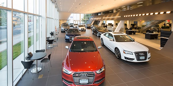 Audi Arlington Showroom