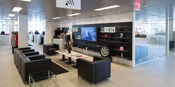 Audi Arlington Customer Lounge