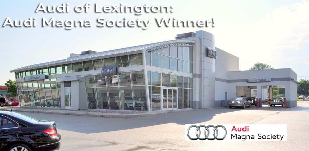 Welcome Audi of Lexington, KY to the AutoAlert family. | Chris ...