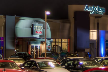 Dealership front view