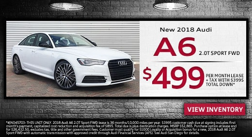 New Audi Lease Specials Exclusive Offers And Deals At Audi San Diego - Current audi offers