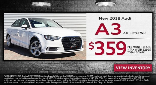 New Audi Lease Specials Exclusive Offers And Deals At Audi San Diego - Audi lease promotions