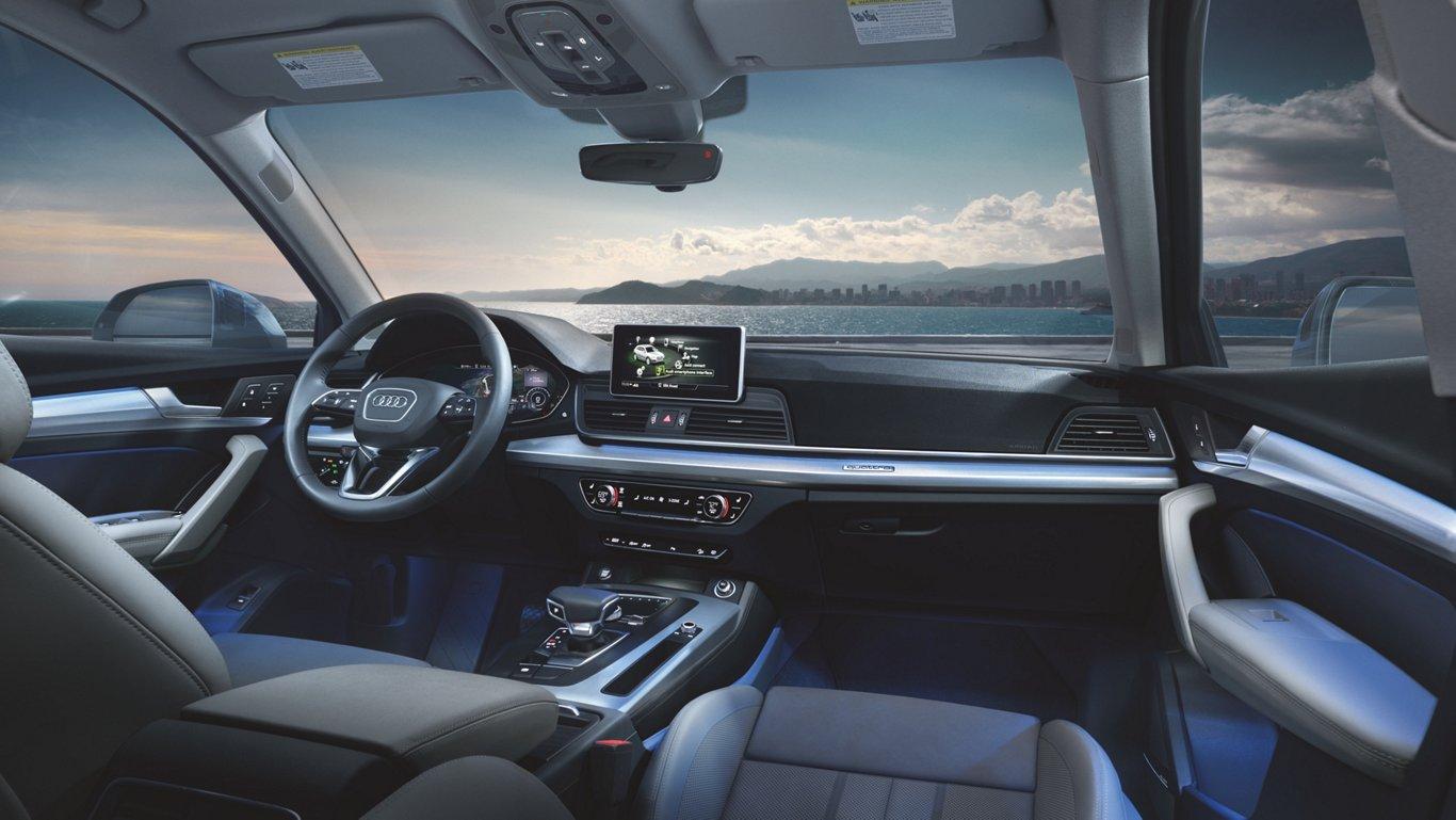 2018 Audi Q5 Mlp Design Interior Expansive Wraparound