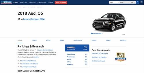 Research The Audi Q5