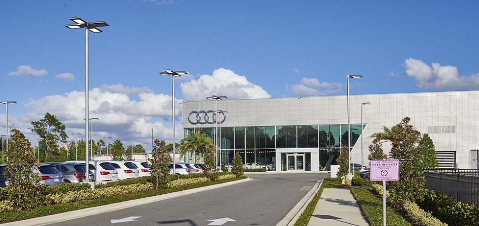 Exterior view of Audi Serving Maitland