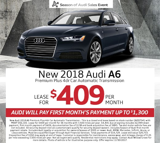 New Audi Dealership In Willow Grove