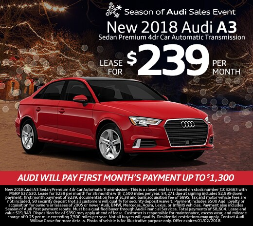 Audi Pre Owned Certified: New Audi Dealership In Willow Grove