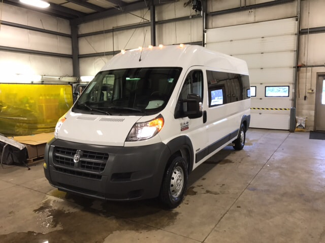 2017 Ram ProMaster 2500 Window Van High Roof Van Extended