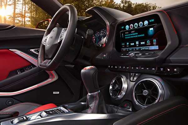 Cabin of the 2016 Chevy Camaro