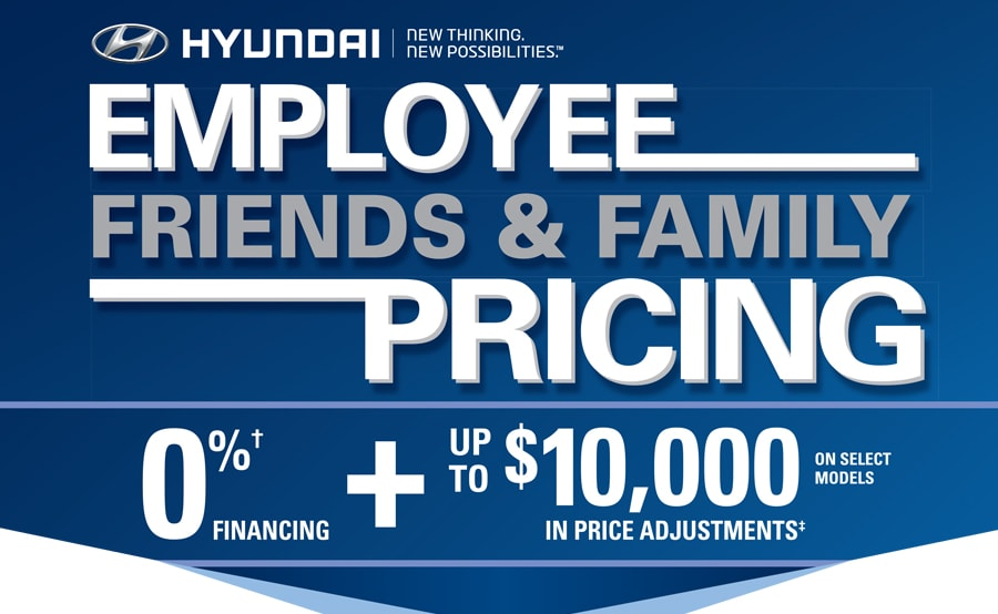 Hyundai Employee Friends And Family Pricing Cambridge Hyundai