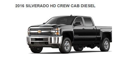 SILVERADO 2500 CREW CAB
