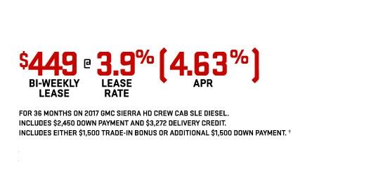 Sierra HD Crew Cab Offer