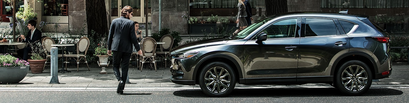 A 2019 Mazda CX-5 parked