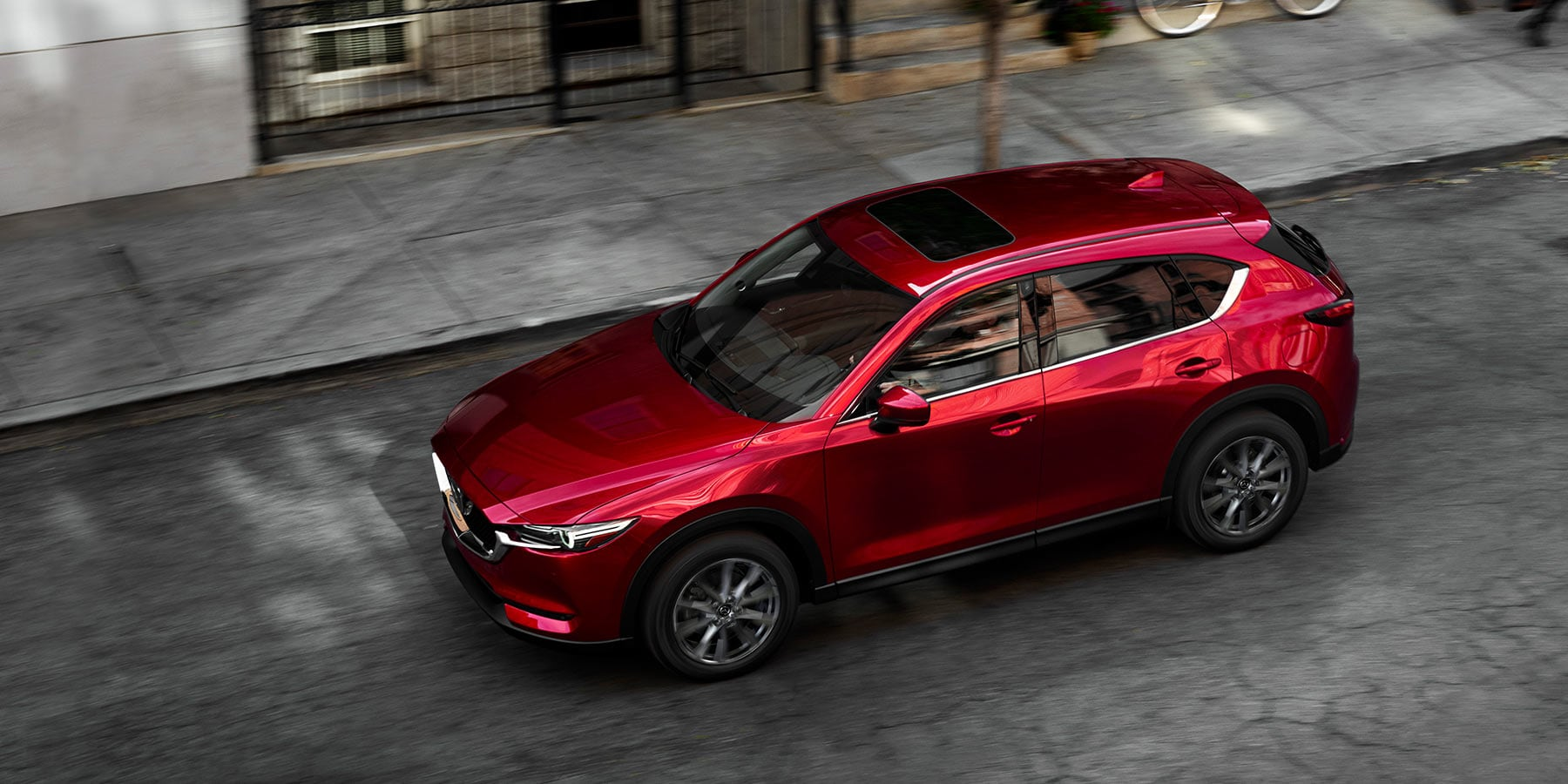 2019 Red Mazda CX-5 Parked