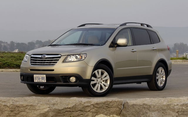 essais routier subaru tribeca d occasion auto. Black Bedroom Furniture Sets. Home Design Ideas