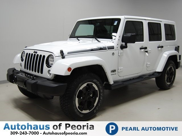 used 2014 jeep wrangler unlimited polar edition for sale peoria il 1c4hjweg0el170678. Black Bedroom Furniture Sets. Home Design Ideas