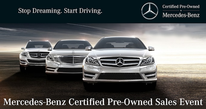 Certified pre owned mercedes event for Mercedes benz certified pre owned warranty