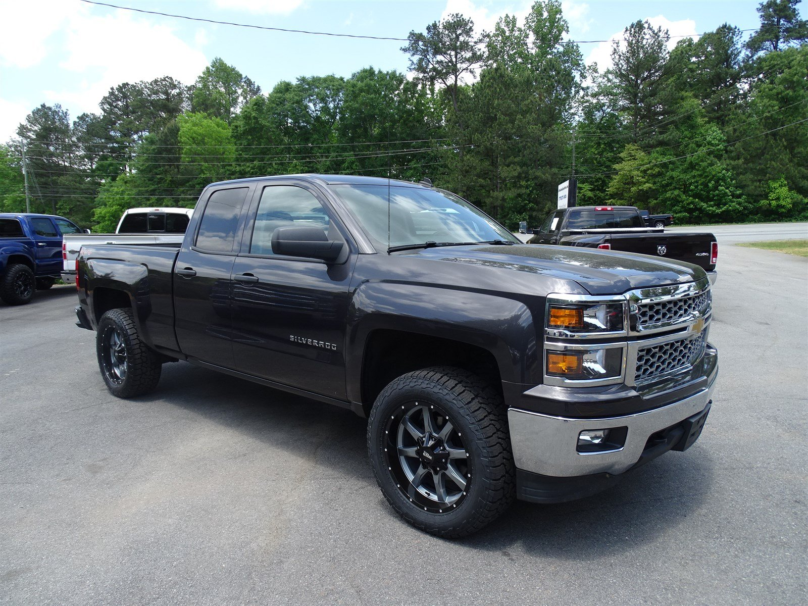 2014 Chevrolet Silverado 1500 LT  10-Way Power Driver Seat Adjuster 150 Amp Alternator Rear Whe