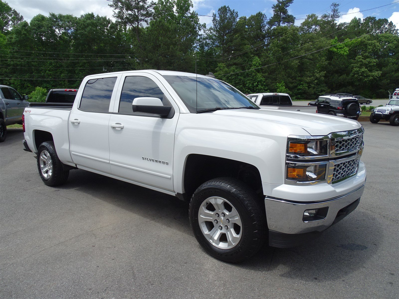2015 Chevrolet Silverado 1500 LT  10-Way Power Driver Seat Adjuster 150 Amp Alternator Rear Whe