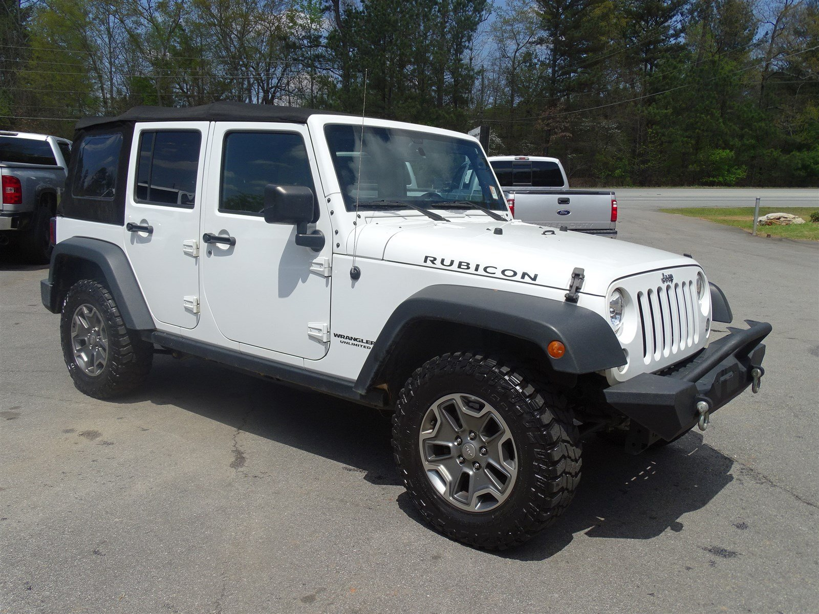 2015 Jeep Wrangler Unlimited Rubicon 4x4  Smokers Group Quick Order Package 23R Engine 36L V