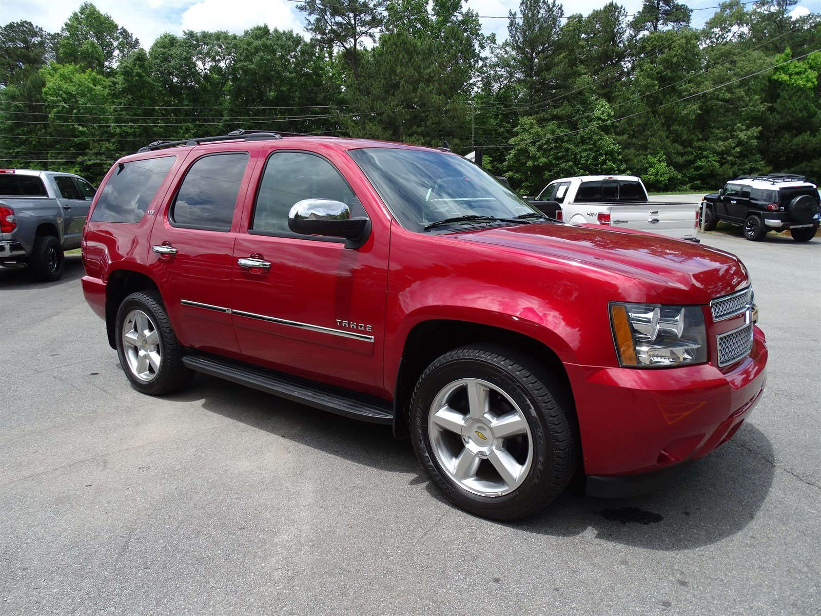2013 Chevrolet Tahoe LTZ  Preferred Equipment Group 1LZ Remote Vehicle Starter System Rear Visi