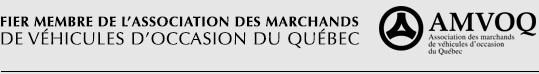 Fier membre de l'association des Marchands de véhicules d'occasion du Québec