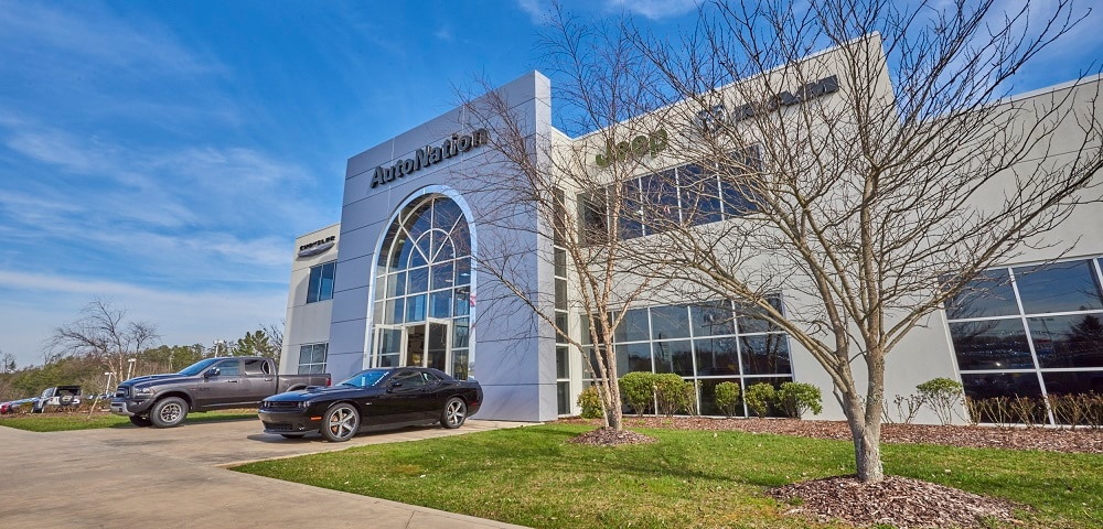 Exterior view of AutoNation Chrysler Dodge Jeep RAM & FIAT Arapahoe serving Bristol