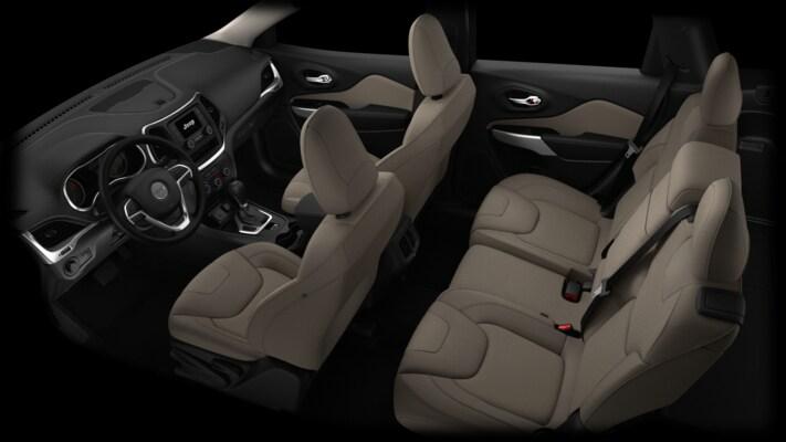2016 Jeep Cherokee Interior Options Autonation Chrysler Dodge Jeep Ram Spring