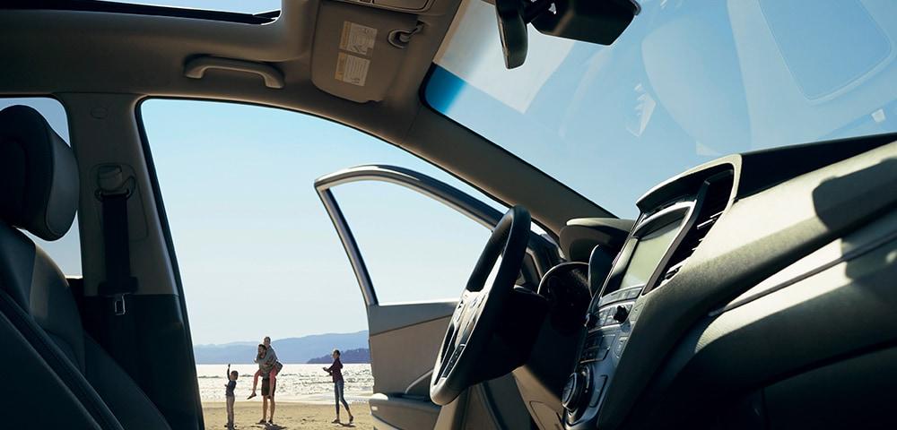 Interior photo 2018 Hyundai Santa Fe Sport