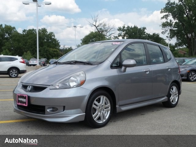 2008 Honda Fit Sport 4dr Car