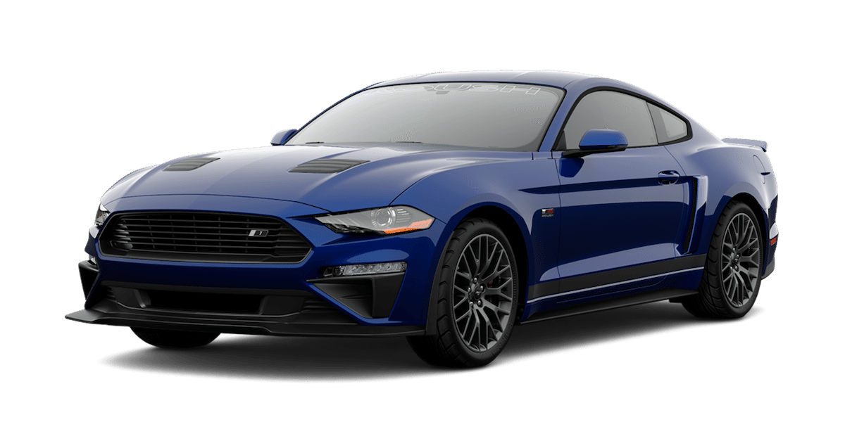 2019 ROUSH Stage 1 Mustang in Blue