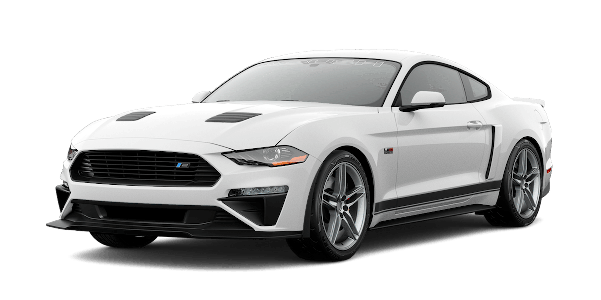 2019 ROUSH Stage 2 Mustang in White