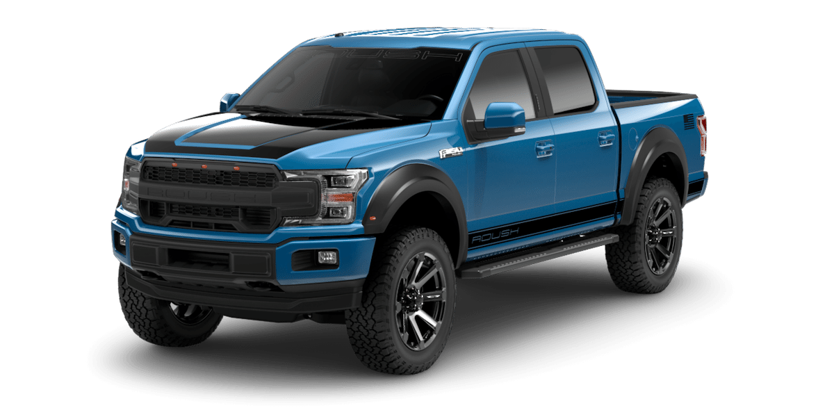 2019 ROUSH F-150 Off-Road in Blue