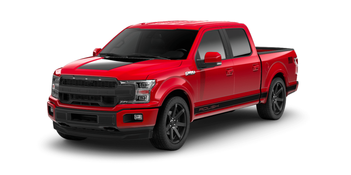 2019 ROUSH F-150 Sport in Red