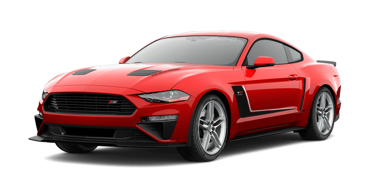2019 ROUSH Stage 3 Mustang in Red