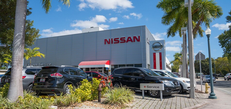 Exterior view of Nissan Miami Serving Coral Gables